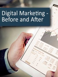 Digital Marketing - Before and After
