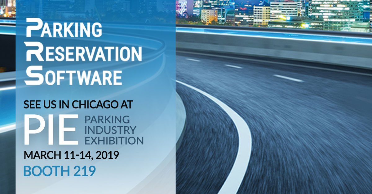Parking Reservation Software (PRS) Exhibits at 2019 PIE